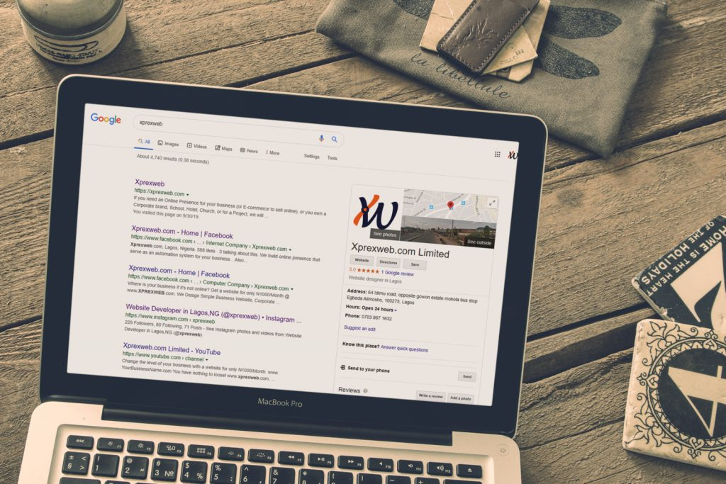 xprexweb google business online visibility