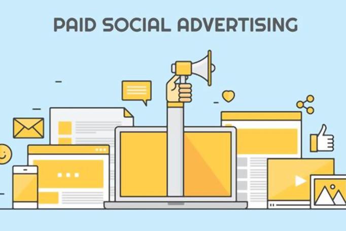 social media paid ad