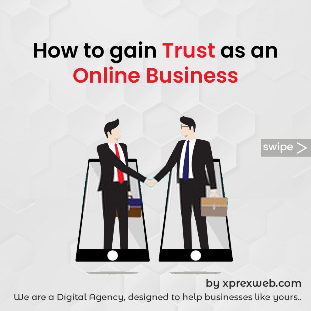 How to gain trust as an online business