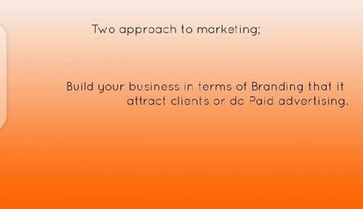 2 Approach to Marketing