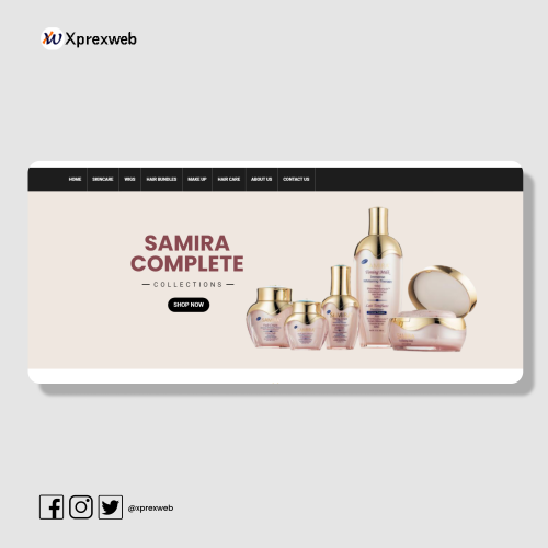 Website development for Ally's Beauty Place